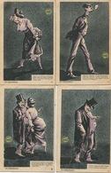 CPA - ILLUSTRATEUR : Fantaisie - Illustrateur C. Flament - 10 C.P.A. : En Apacheria Série Complète De N°1 à 10 - Illustrateurs & Photographes