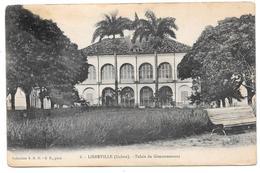 LIBREVILLE (Gabon) - Palais Du Gouvernement - Collection S.H.O. - G.P. Phot. N° 8 - Gabon