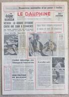 Journal Dauphiné Libéré Du Jeudi 8 Février X° Jeux Olympiques D'hiver De Grenoble 1968 Franco Nones - Autres