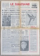 Journal Dauphiné Libéré Jeudi 15 Février X° Jeux Olympiques D'hiver De Grenoble 1968 Beloussova Protopopov - Autres