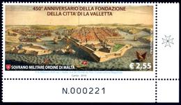 SMOM - ORDINE DI MALTA 2016 450° FONDAZIONE LA VALLETTA OFFERTA 60% DEL FACCIALE! - Malta (Orden Von)