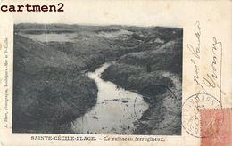 SAINTE-CECILE-PLAGE LE RUISSEAU FERRUGINEUX 62 - Francia