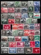 Duitse Rijk Kleine Verzameling Gestempeld, Zeer Mooi Lot 4169 - Timbres