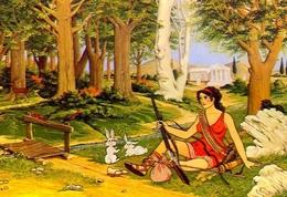 Artemis - Die Gottin Des Jagers - 8 - Formato Grande Non Viaggiata – E 9 - Grecia