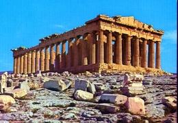 Atene - Il Partenone Dal N.o. - 425 - Formato Grande Non Viaggiata – E 9 - Grecia