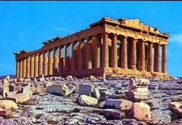 Atene - Il Partenone Dal N.o. - Formato Grande Non Viaggiata – E 9 - Grecia