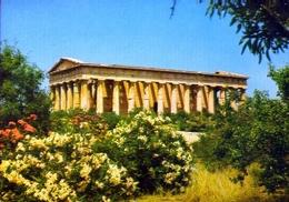 Atene - Thission - Tempio Di Vulcano - Formato Grande Non Viaggiata – E 9 - Grecia