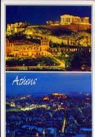 Athen - Die Kariatiden - 61 - Formato Grande Viaggiata – E 9 - Grecia