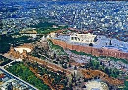 Athen - L'acropole Vue D'avion - 431 - Formato Grande Non Viaggiata – E 9 - Grecia