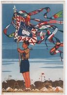 SCOUTISME. JAMBOREE De La PAIX. 1947. TIMBRE Au VERSO. - Scoutisme