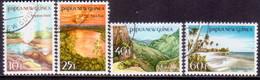 PAPUA NEW GUINEA 1985 SG #491-94 Compl.set Used Tourist Scenes - Papua New Guinea