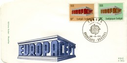 1969 - BELGIO - EUROPA - BUSTA FDC.+5 - FDC