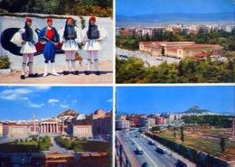 Athenes - 1019 - Formato Grande Viaggiata Mancante Di Affrancatura – E 9 - Grecia