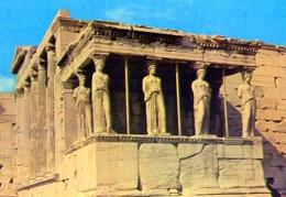 Athenes - Portique De Caryatides - Formato Grande Viaggiata – E 9 - Grecia