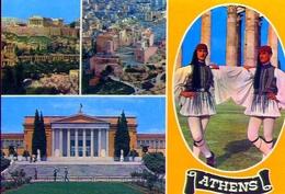 Athens - 412 - Formato Grande Non Viaggiata – E 9 - Grecia