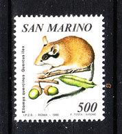 San Marino - 1990. Topo Quercino. Garden Mouse. MNH - Rongeurs