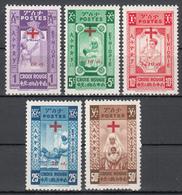 1950 Yvert Nº 279 / 283  /**/ - Etiopía