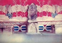 Cnossos - Throne Room - Formato Grande Non Viaggiata – E 9 - Grecia