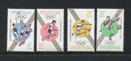 Phillipines 1964 Olympics Games Scott 915-918 Soccer Basketball - Summer 1964: Tokyo