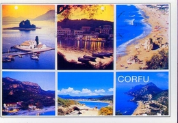 Corfu - Formato Grande Viaggiata – E 9 - Grecia
