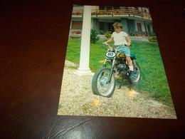 B722  Vecchia Moto Non Viaggiata - Bambini