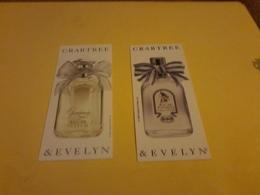 Carte  Crabtree & Evelyn X 2 - Cartes Parfumées
