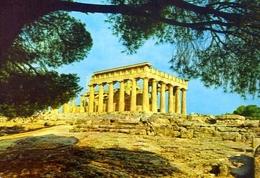 Egina - Il Tempio Di Afea - Formato Grande Viaggiata – E 9 - Grecia