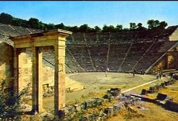 Epidauro - Il Teatro Antico - Formato Grande Viaggiata Mancante Di Affrancatura – E 9 - Grecia