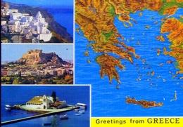 Greetings From Greece - Formato Grande Non Viaggiata – E 9 - Grecia