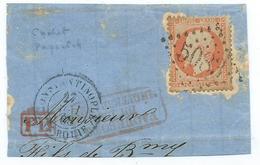 Lettre Type Napoleon N° 23 - Marcophilie (Lettres)