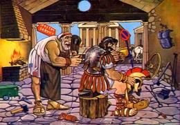 Griechische Mythologie - Ifestos Der Gott Des Feuers Und Eisens - 5 - Formato Grande Non Viaggiata – E 9 - Grecia