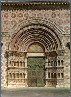 °°° Cartolina N. 574 L'aquila Portale Basilica S. Maria Di Collemaggio Nuova °°° - L'Aquila