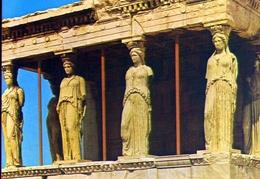 L'acropoli Di Atene - Le Cariatidi - 427 - Formato Grande Non Viaggiata – E 9 - Grecia