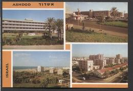 Israël -Asjdod - Port City And Seaside Resort West Of Isräil - NOT  Used.- See The 2 Scans For Condition.(Originalscan ) - Israel
