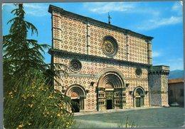 °°° Cartolina N. 576 L'aquila Basilica S. Maria Collemaggio Nuova °°° - L'Aquila