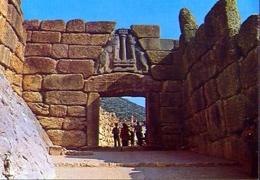 Mycenes - La Porte Des Lions - Formato Grande Non Viaggiata – E 9 - Grecia