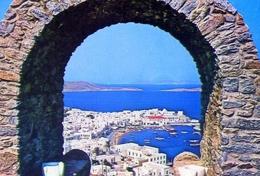Myconos - Vue Partielle - 52 - Formato Grande Non Viaggiata – E 9 - Grecia