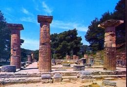 Olympia - The Temple Of Hera - Formato Grande Non Viaggiata – E 9 - Grecia