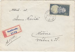 CSSR 1961 - MiNr: 1256 Rekobeleg - Briefe U. Dokumente