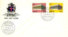 1969 - ISLANDA - EUROPA - BUSTA FDC.+4 - FDC