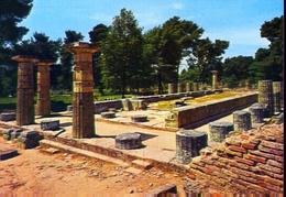Olympia - Vue Du Temple De Junon - Formato Grande Non Viaggiata – E 9 - Grecia