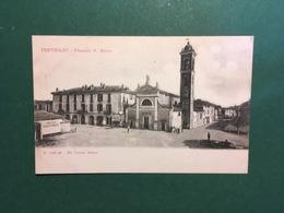 Cartolina Treviglio - Piazzale S. Rocco - 1900 Ca. - Bergamo