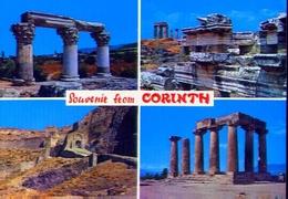 Souvenir From Corinth - Formato Grande Non Viaggiata – E 9 - Grecia