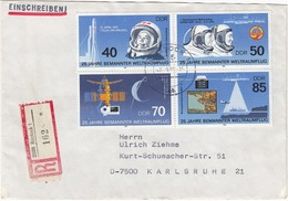 DDR 1986 - MiNr: 3005-3008 4er Block Rekobeleg - Europa