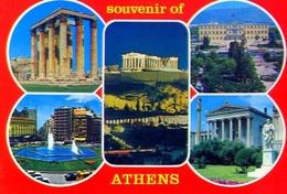 Souvenir Of Athens - Formato Grande Non Viaggiata – E 9 - Grecia