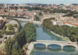25  Doubs  -  Besançon  -  Vue  Aérienne  -  Le  Pont  De  La  Répuique  Et  La  Passerelle  Denfert - Besancon