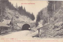 88  Vosges  -  Col  De  Bussang  -  Le  Tunnel  Du  Col  De  Bussang  -  Frontière  Entre  Vosges  Et  Alsace  Avant  La - Col De Bussang