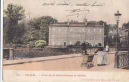 88  Vosges  -  Epinal  -  Pont  De  La  Bibliothéque  Et  Musée - Epinal