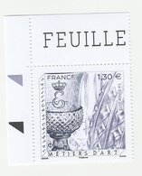France 2019 - Métiers D'Art - Tailleur De Cristal -  1 Timbre X 1,30€ - Neufs