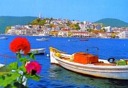 Poros - Vue Partielle - 734 - Formato Grande Non Viaggiata – E 9 - Jugoslavia